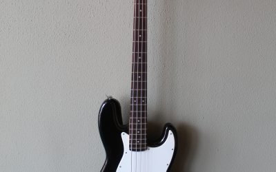 Just added to the store: Used Fender Squire Bullet J Bass Electric Guitar with Gig Bag