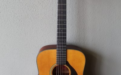 Just added to the store: Yamaha Red Label FG5 Steel String Acoustic Guitar