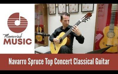 New Video: Demo: Concert Classical Spruce Video / MemorialMusic.com