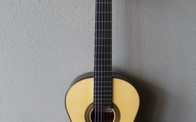 Just added to the store: Francisco Navarro Hauser Model Grand Concert Classical Guitar