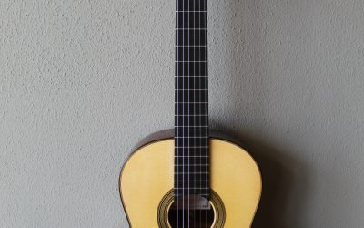 Just added to the store: Francisco Navarro Torres Model Grand Concert Classical Guitar