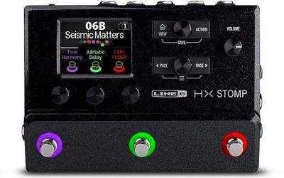 Just added to the store: Line 6 HX Stomp Compact Amp and Effects Processor Guitar Pedal