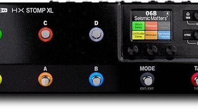 Just added to the store: Line 6 HX Stomp XL Multi Effects Processor Guitar Pedal