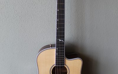 Just added to the store: Seagull Artist Mosaic Cutaway HG EQ Acoustic/Electric Guitar with Gig Bag