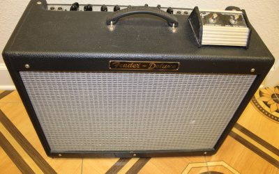 Just added to the store: Used Fender Hot Rod Deluxe Electric Guitar Amplifier with Footswitch