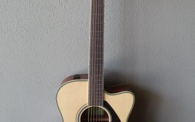 Just added to the store: Yamaha FSX820C Steel String Acoustic/Electric Guitar with Gig Bag