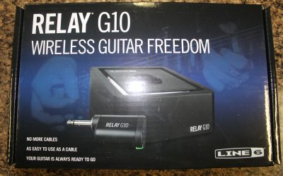 Just added to the store: Line 6 Relay G10 Digital Wireless Guitar System