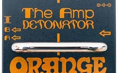 Just added to the store: Orange Amp Detonator Buffered A/B/Y Switcher Guitar Pedal