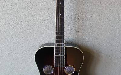 Just added to the store: Recording King RR-50-VS Professional Series Roundneck Resonator Guitar
