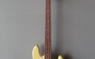 Just added to the store: Used Customized Fender Precision Jazz Bass Guitar with Gig Bag