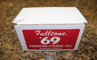 Just added to the store: Used Fulltone '69 Germanium Powered Fuzz Guitar Pedal