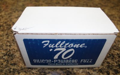 Just added to the store: Used Fulltone 70-BC Silicon-Powered Fuzz Guitar Pedal