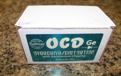 Just added to the store: Used Fulltone Custom Shop OCD-Ge Germanium Obsessive Compulsive Drive Guitar Pedal