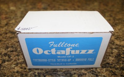 Just added to the store: Used Fulltone Octafuzz OF-2 Guitar Fuzz Pedal