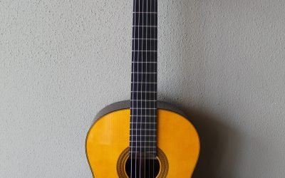 Just added to the store: Yamaha GC32S Nylon String Spruce Top Grand Concert Classical Guitar
